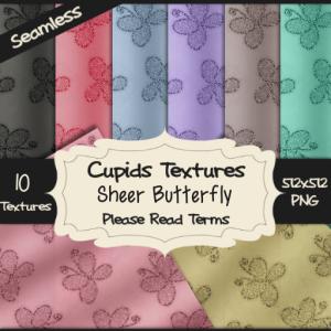 10 SHEER BUTTERFLY