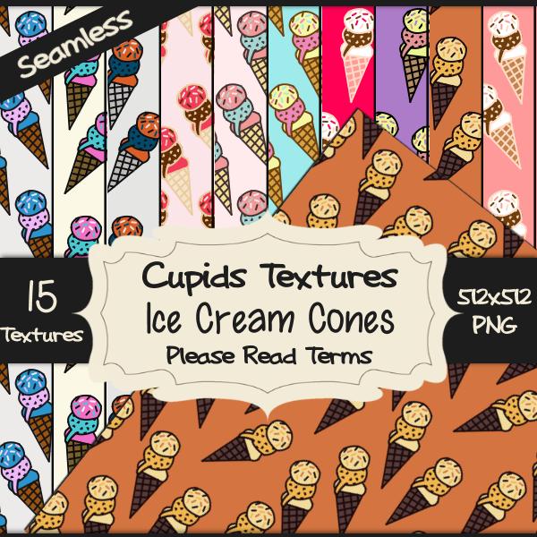 15 ICE CREAM CONES