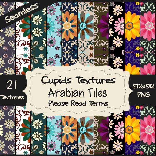 21 ARABIAN TILES
