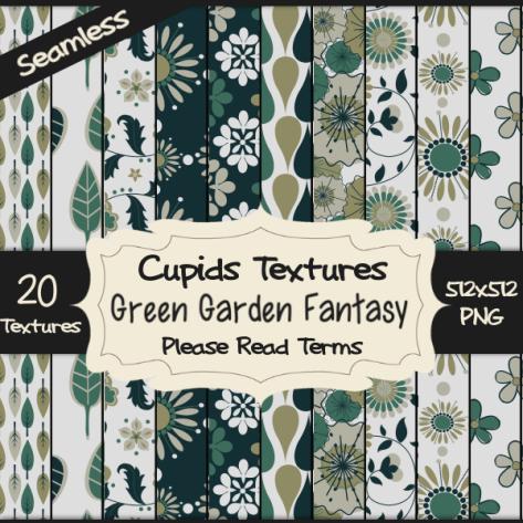 20 GREEN GARDEN FANTASY